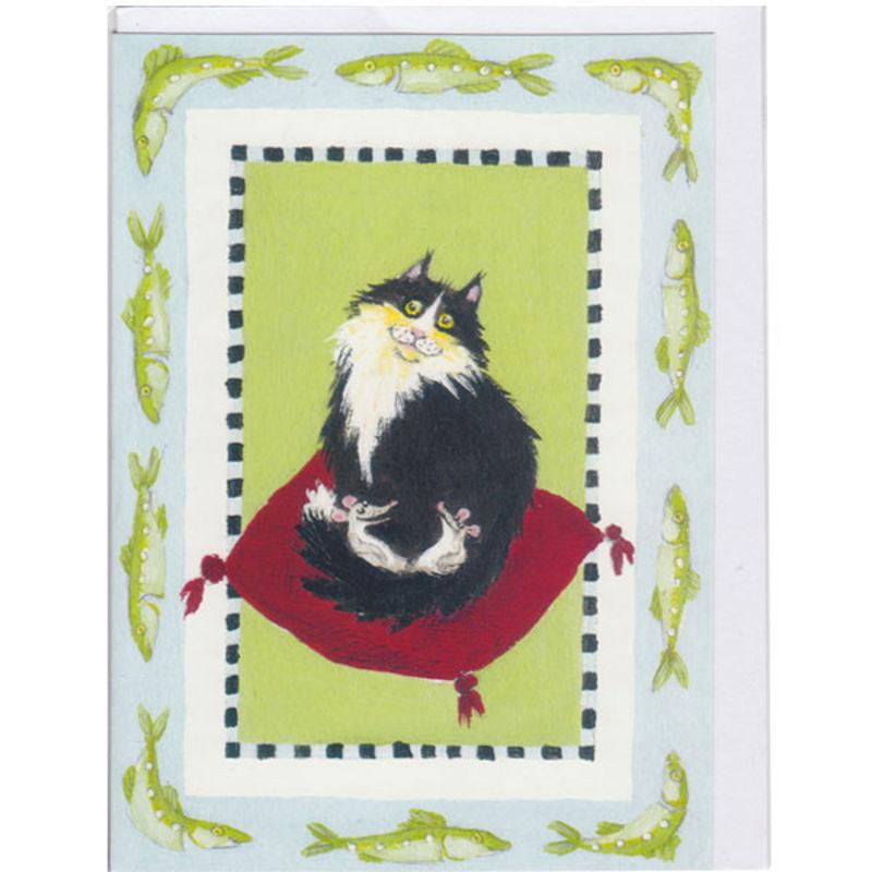 Postkarte Design Aspegren Denmark Cat and Mice