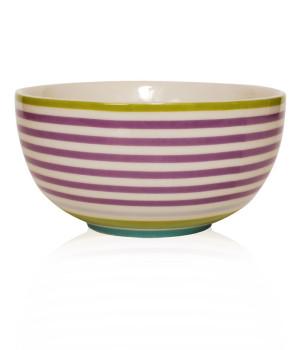 Skål Design Aspegren Denmark Stripe Lilac