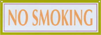 Sign Design Aspegren No Smoking