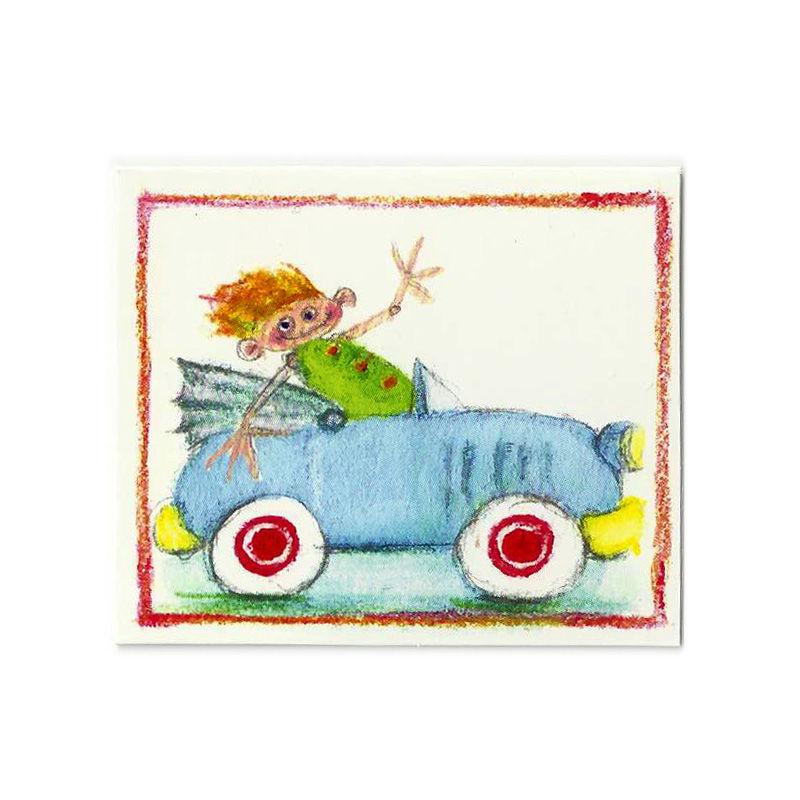 Mini Karte Design Aspegren Boy Drive Car