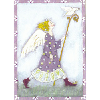 Karte Design Aspegren Angel With Stick