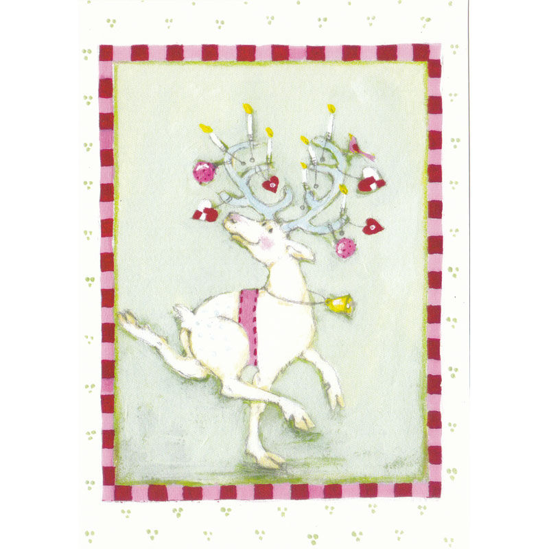 Karte Design Aspegren Dancing Reindeer