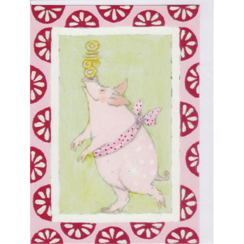 Karte Design Aspegren Juggling Piggy