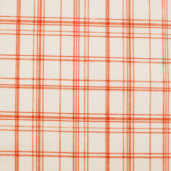 Voksdug ftalatfri PVC Design Aspegren Denmark Check Orange