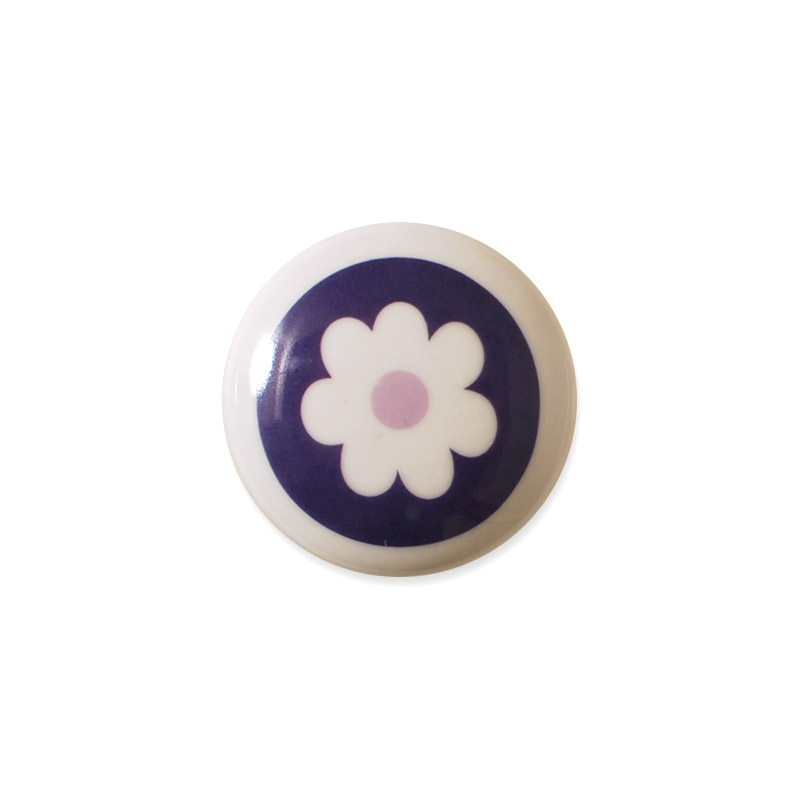 Knauf Design Flower Lilac