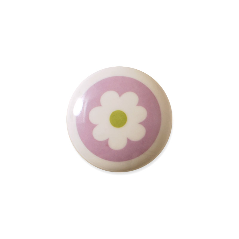 There are plenty of ways of applying the many colorful porcelain knobs, not only for the creative person. Mini Knob Design Aspegren Denmark Flower Rose