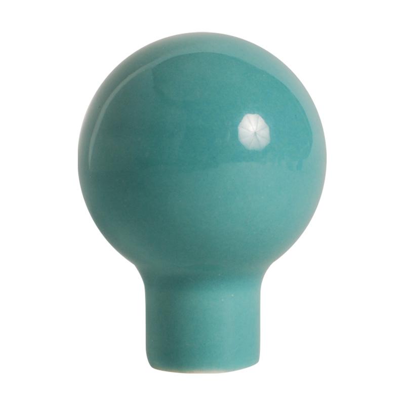 Mini Knob Design Aspegren Denmark Funny Aqua