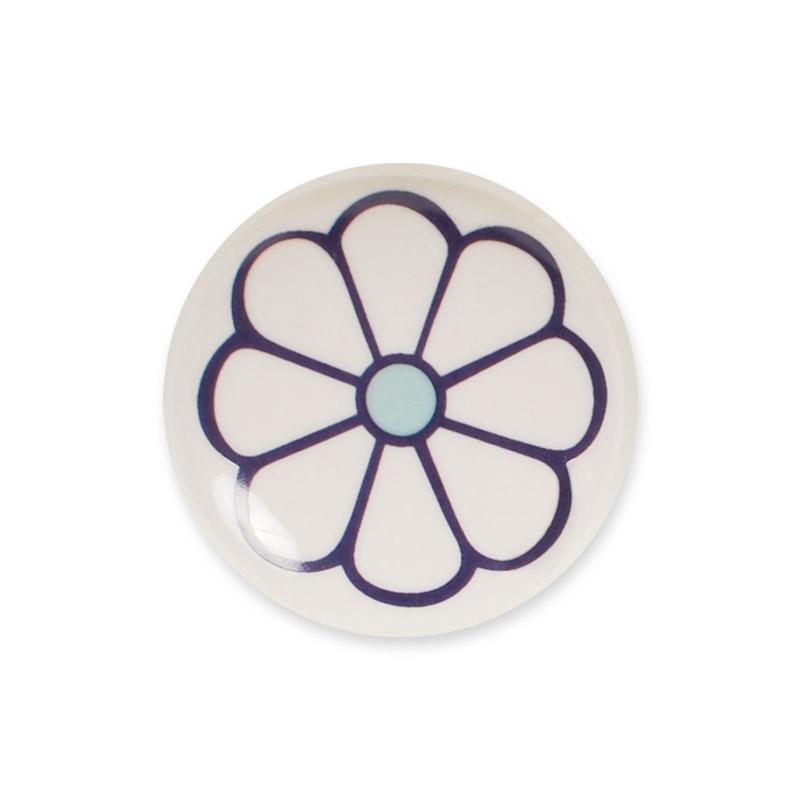 Midi Knob Design Aspegren Denmark Lucy Flower Lilac