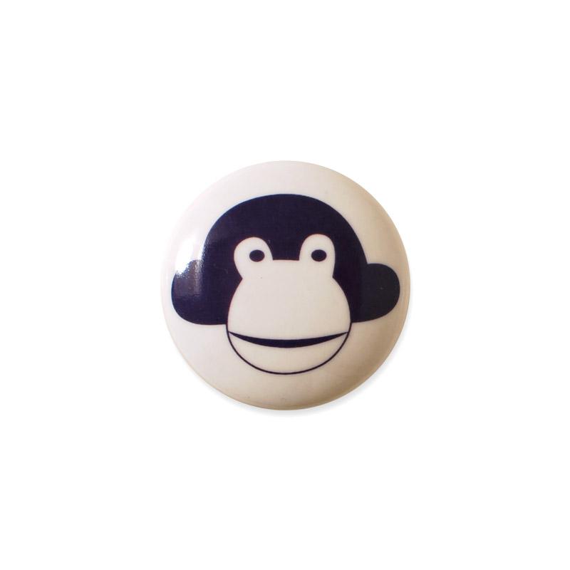 Mini Knob Design Aspegren Denmark Monkey Lilac