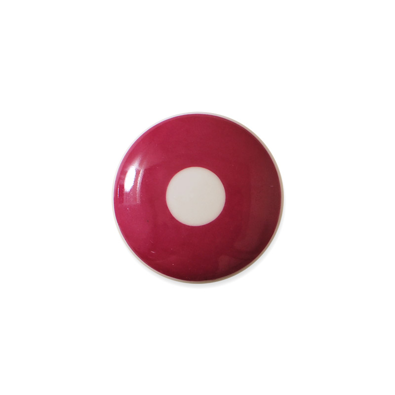 Mini Knob Design Aspegren Denmark Polka Red