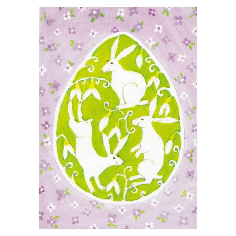 Postkort Design Aspegren Denmark Easter Bunnies