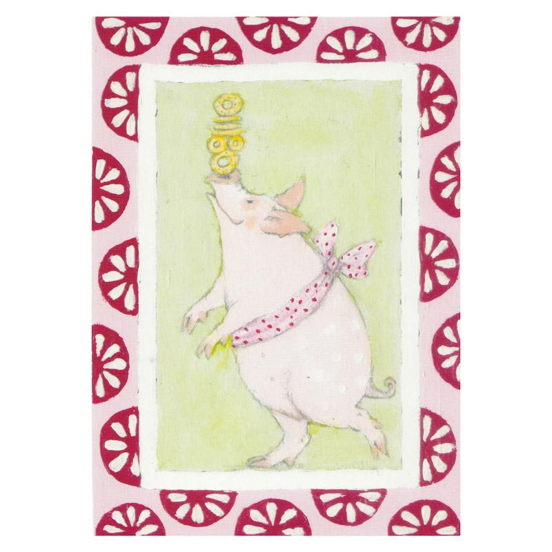 Kort Design Aspegren Denmark Juggling Piggy