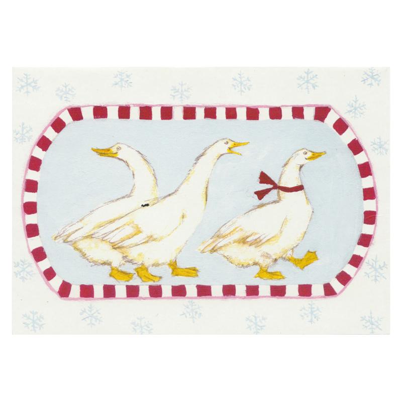 Kort Design Aspegren Denmark Geese