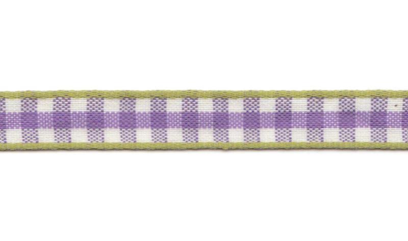 Band auf Rolle Design Aspegren Denmark Check Lilac