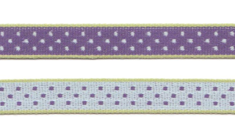 Band auf Rolle Design Aspegren Denmark Dot Lilac