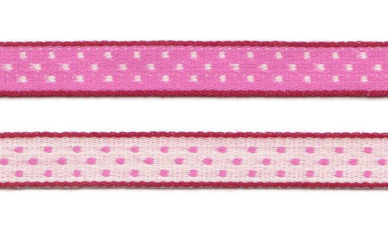 Bånd på spole Design Aspegren Dot Pink