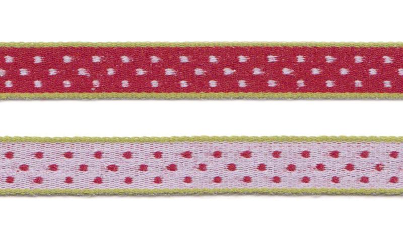 Bånd på spole Design Aspegren Dot Red