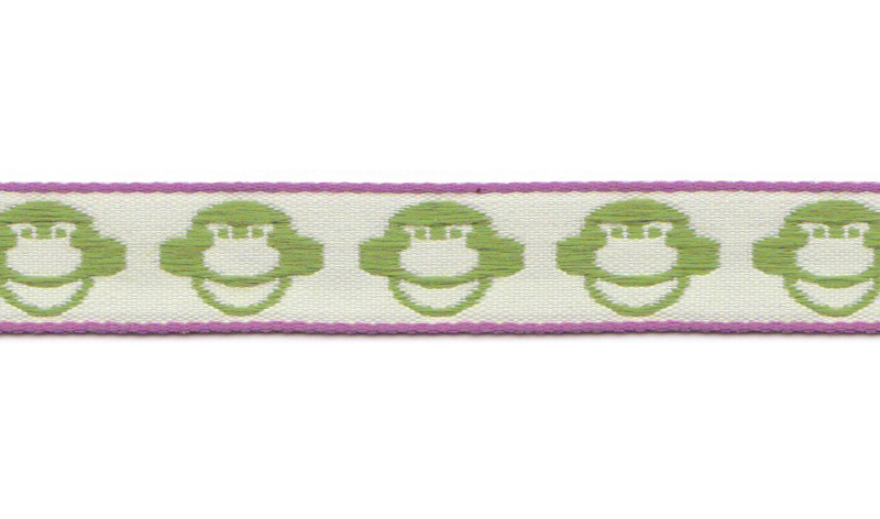 Band auf Rolle Design Aspegren Denmark Monkey Green