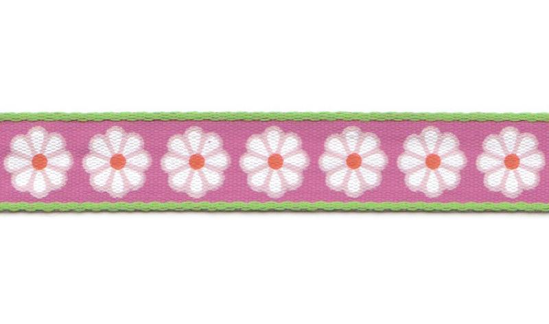 Bånd på Board Design Aspegren Lucy Flower Pink