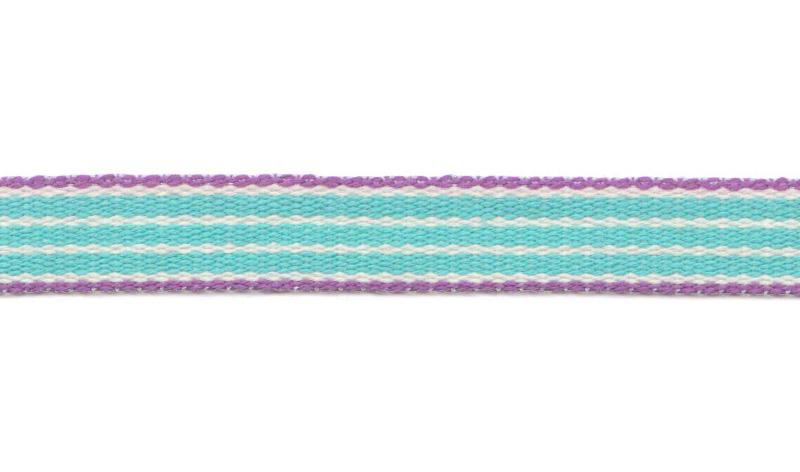 Band auf Rolle Design Aspegren Denmark Stripe Turquoise