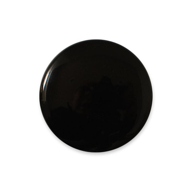 Porzellangriff Design Aspegren Denmark Black Shiny
