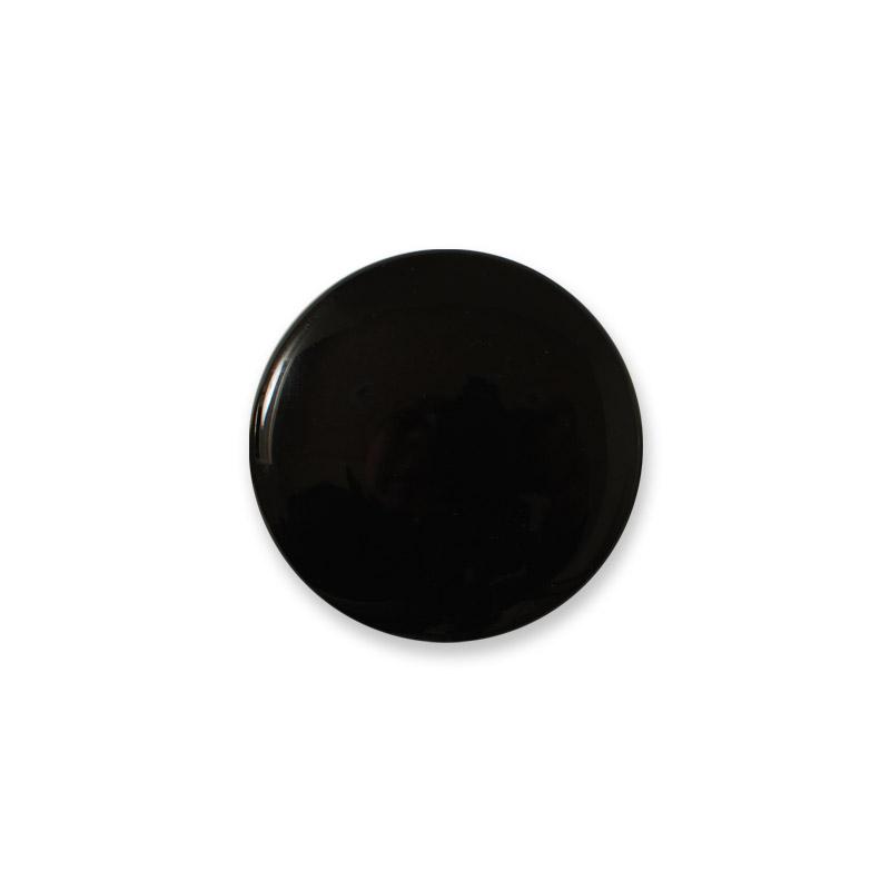 Porzellanknauf Mini Design Aspegren Denmark Black Shiny