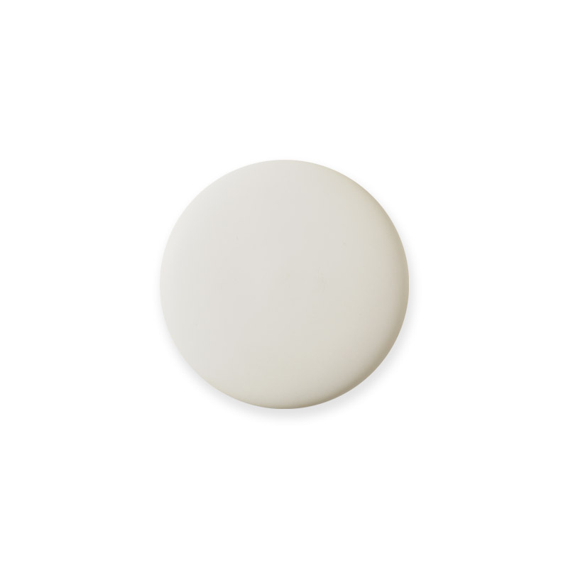 Knob Mini Design White Matt