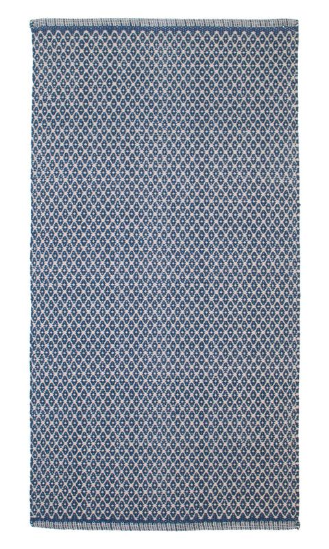 Teppich Design Aspegren Rhombe Blue 70x130Aspegren