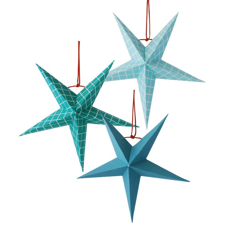 papirstjerner, paper stars, papiersternen