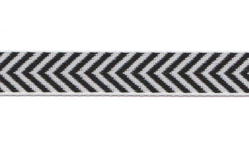 Bånd på Board Design Aspegren Denmark Herringbone Black