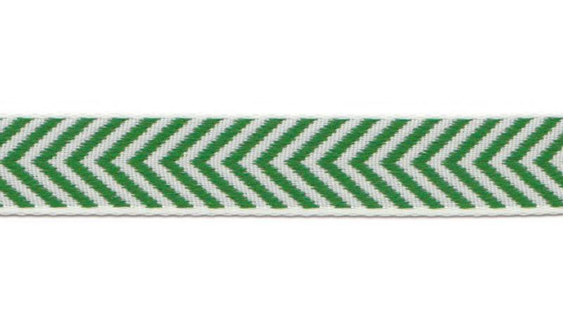 Bånd på Board Design Aspegren Denmark Herringbone Green