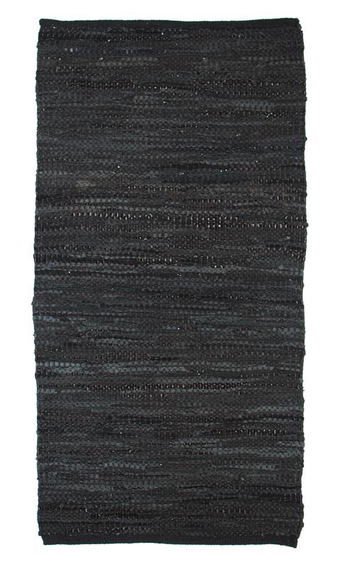 Teppich Design Aspegren Leather Black 70x200Aspegren