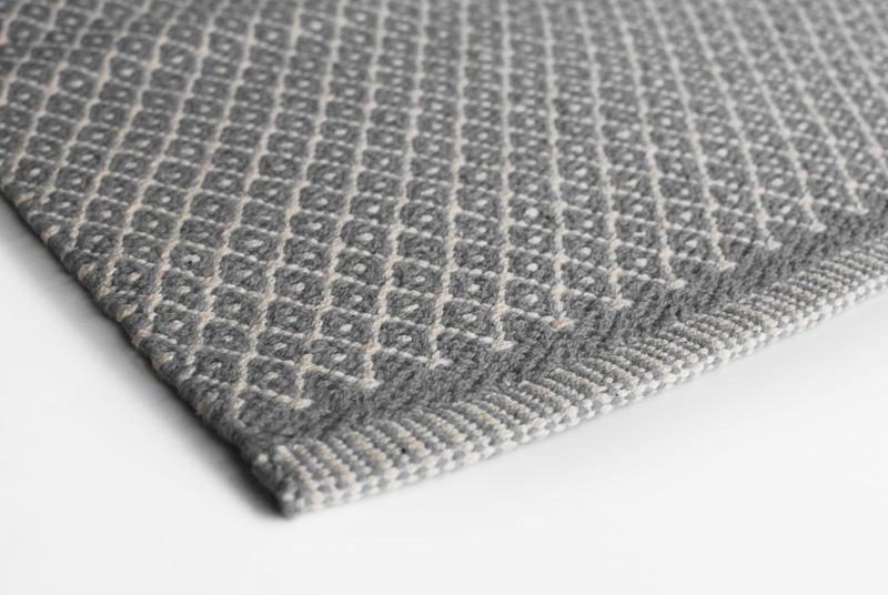Gulvløber Design Aspegren Denmark Rhombe Gray 70x130