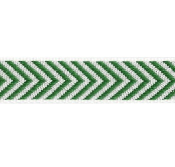 Band auf der Board Design Aspegren Denmark Herringbone Green