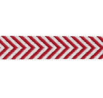 Band auf der Board Design Aspegren Denmark Herringbone Red