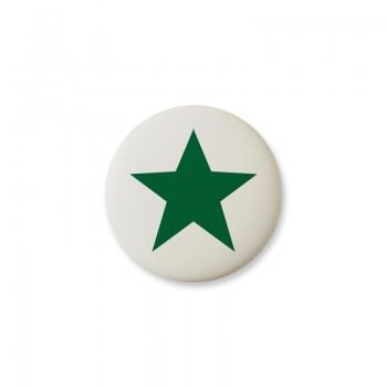 Knop Mini Design Aspegren Denmark Star Green Matt