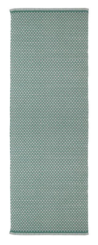 Teppich Design Rhombe Ocean Green 70×200  AspegrenAspegren