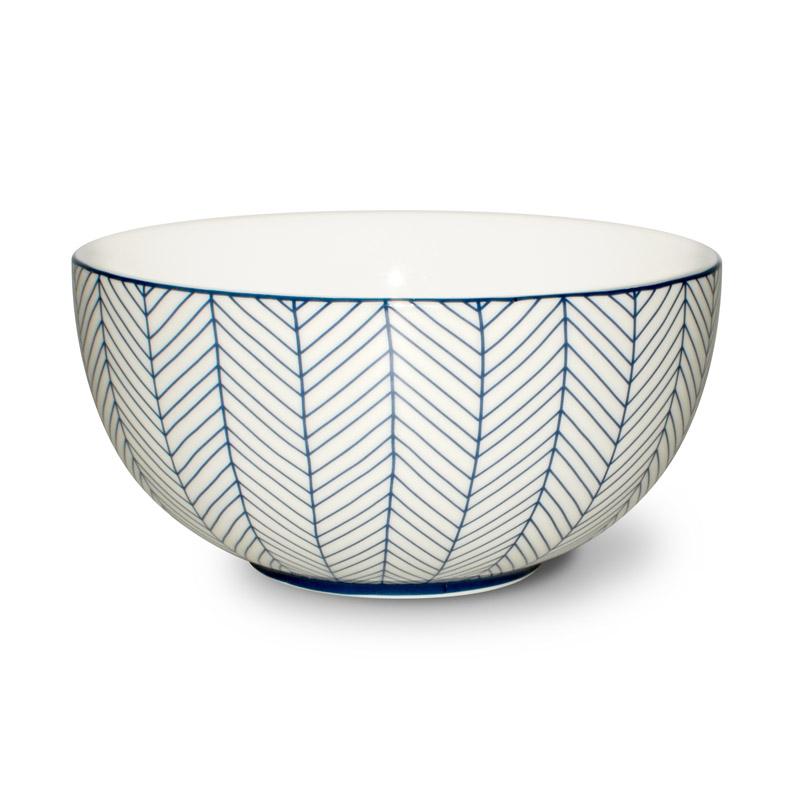 Yoghurt Skål Design Aspegren Denmark Herringbone