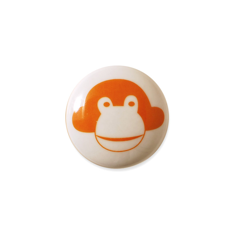 Knop Mini Design aspegren Denmark Monkey Orange