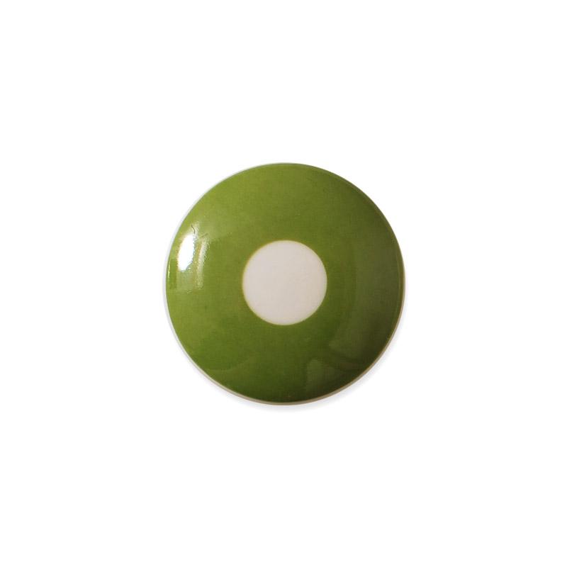 Knop Mini Design Aspegren Denmark Polka Green
