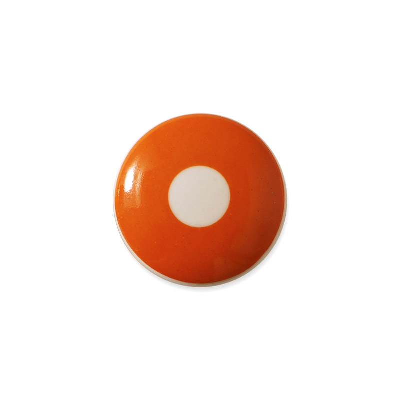 Knop Mini Design Aspegren Denmark Polka Orange