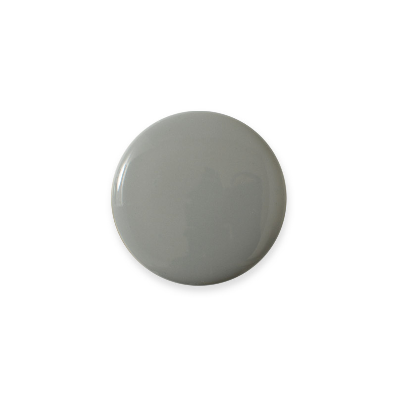 Knop Mini Shiny Desig Aspegren Solid Light Grey