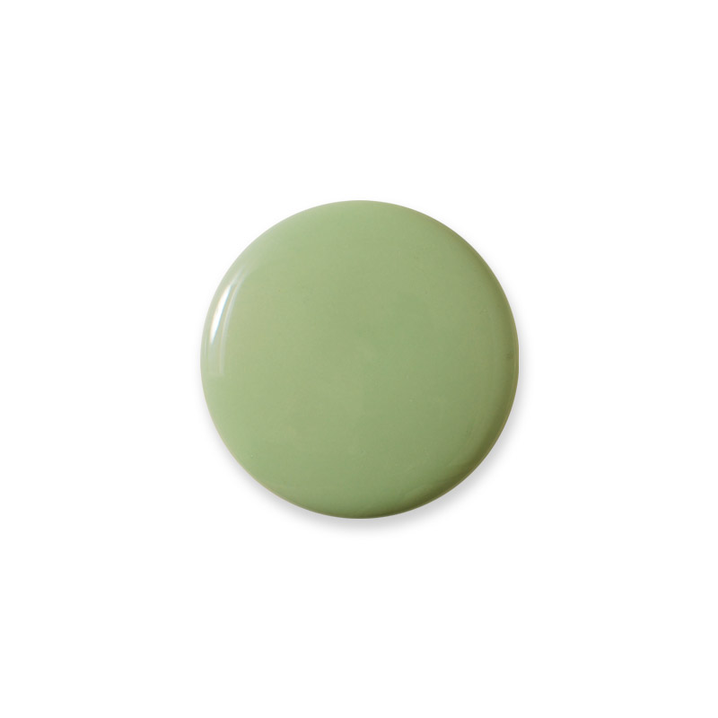 Knop Mini Shiny Design Aspegren Solid Green