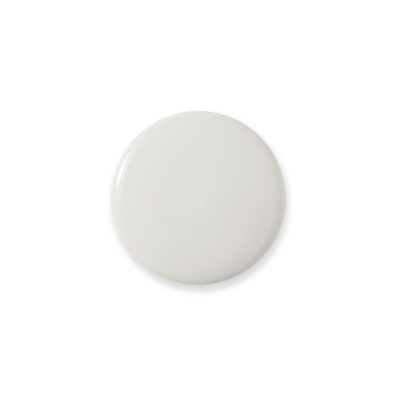 Knop Mini Shiny Design Aspegren Solid White