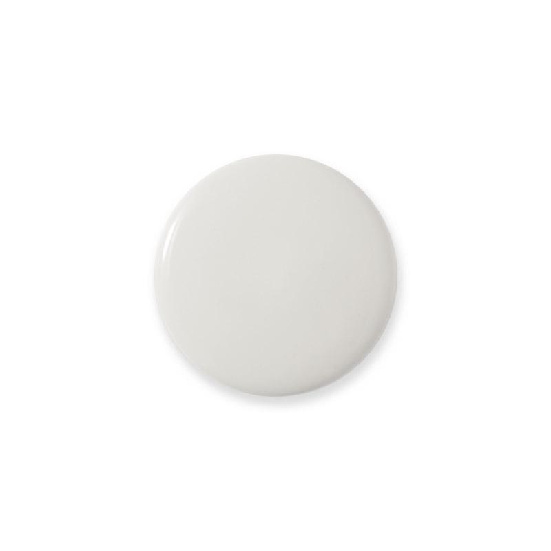 Knop Mini Shiny Design Aspegren Solid White
