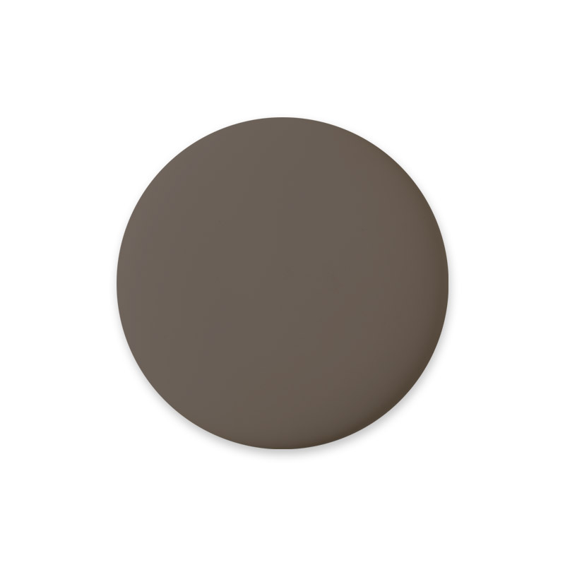 Knob Midi Design Brown Matt