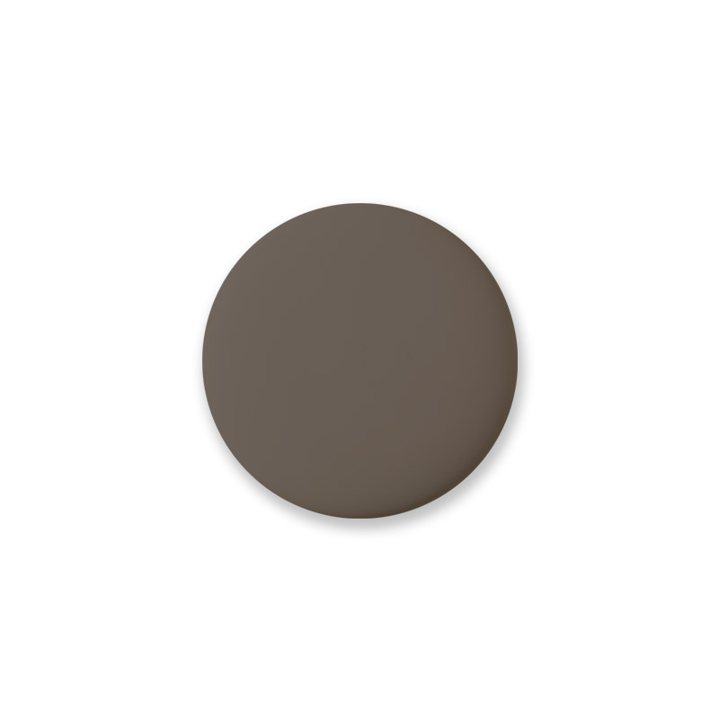 Knob Mini Design Brown Matt