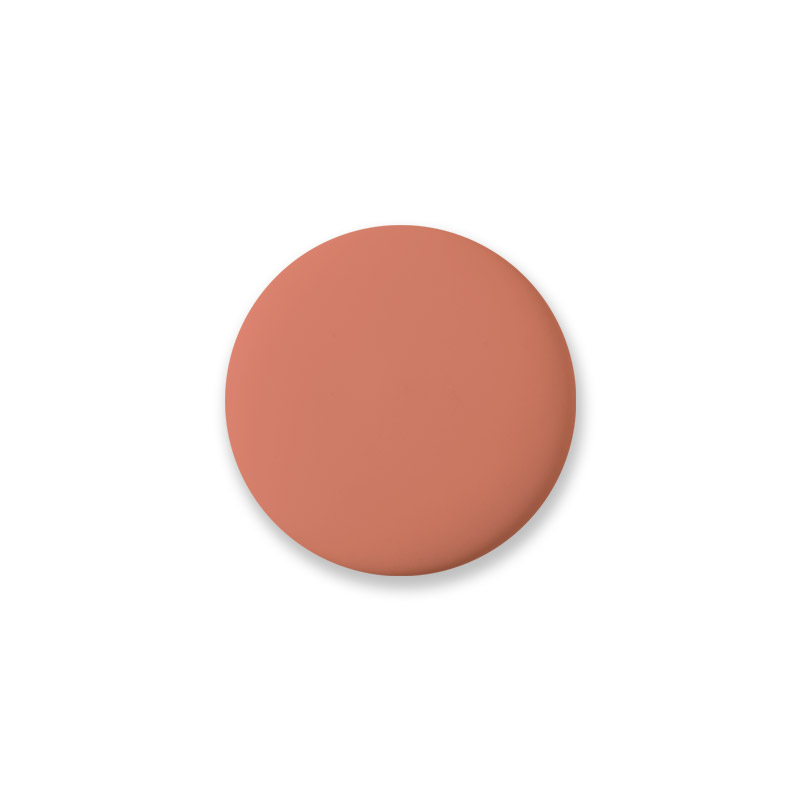 Coral Shiny Mini Knob
