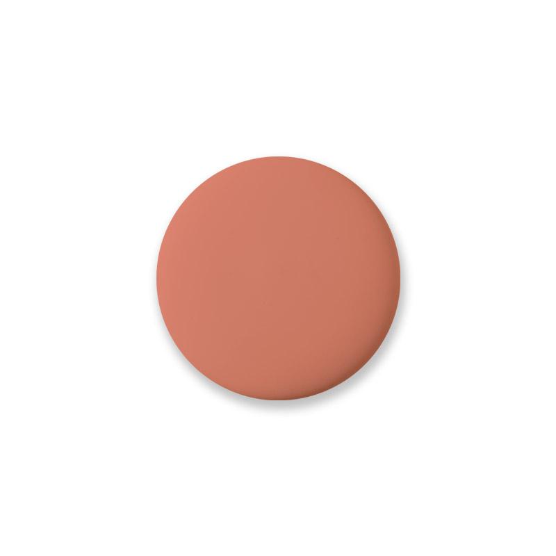 Porzellanknöpfe Mini Design Aspegren Denmark Solid Coral Matt