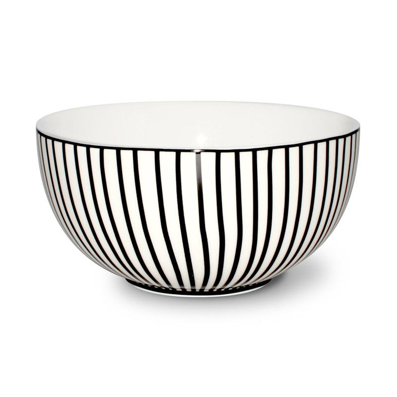 Yougurth Skål Design Aspegren Denmark Lines Black